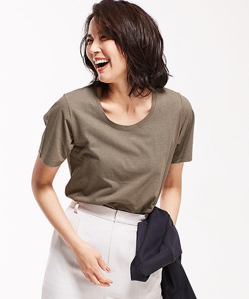 【STORY 6月号掲載】Anti Soaked 30/-クルーネックTシャツ