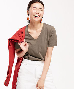 【STORY 6月号掲載】Anti Soaked 30/-VネックTシャツ