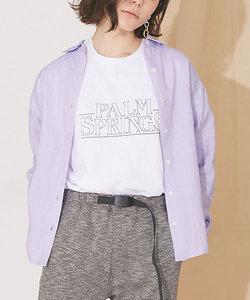 【CanCam 6月号掲載】【MIHO NOJIRI × nano・universe】Champion/別注PALM SPRINGSプリントTシャツ