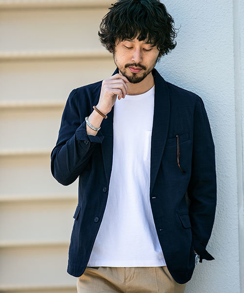 【WEB限定】ダブルガーゼショールジャケット