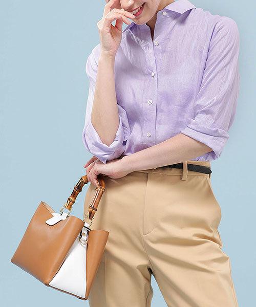 【Marisol 5月号掲載】フレンチリネンシャツ
