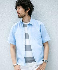 【WEB限定】フレンチリネンミニレギュラーシャツ 半袖