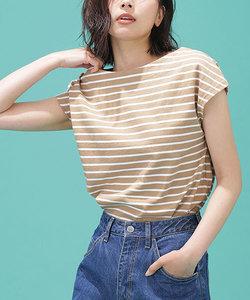 ボーダーフレンチスリーブTシャツ