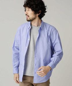 カラーライトコットンワイドシャツ