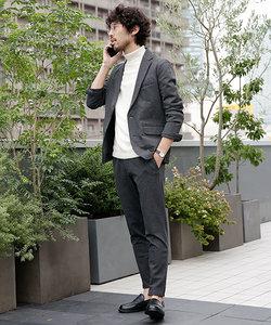 【WEB限定】メランジカット ナロー2Bセットアップ