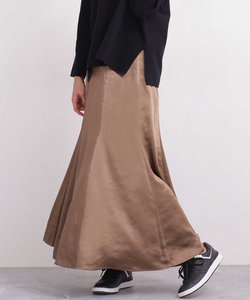 【WEB限定】サテンマーメードスカート