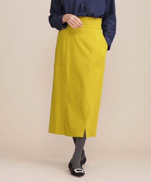 【Oggi 12月号掲載】フロントベンツIラインスカート