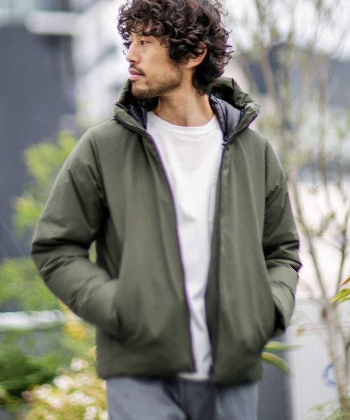【WEB限定】河田フェザー撥水フードダウンジャケット