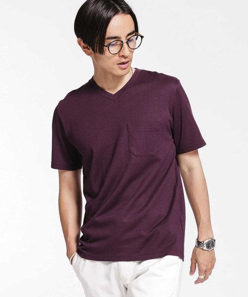 《汗染み防止》Anti Soaked ヘビーVネックTシャツ