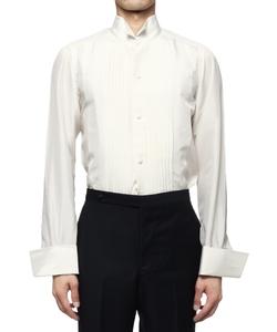 シルクウィングカラーシャツ