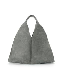 トライアングルレザーバッグ