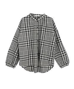 チェックBIGシャツ