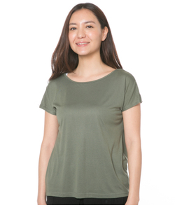 BackドレープTシャツ