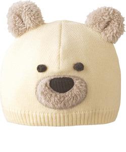 くまちゃんニット帽