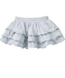 3段フリルラップスカート