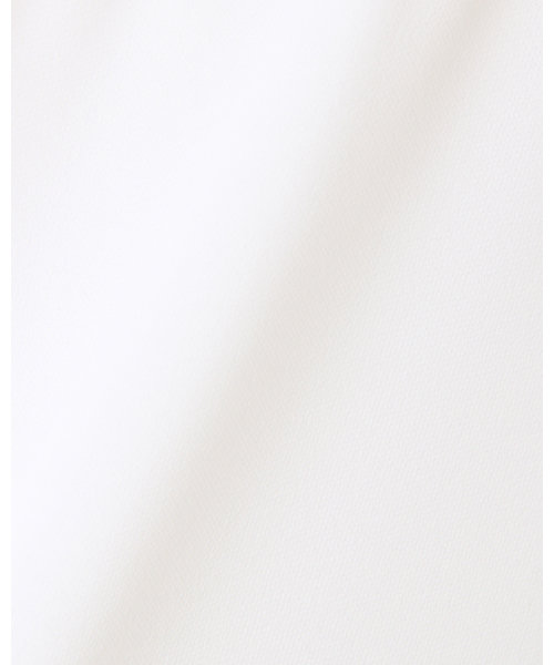 裾タックトロミフレンチスリーブ ブラウス