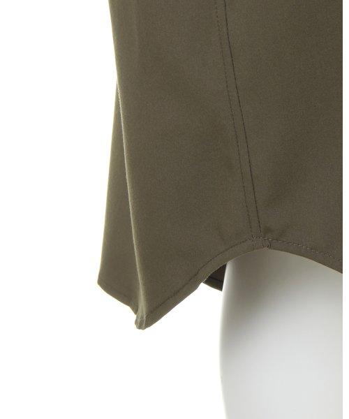 ロングシャツ ワンピース