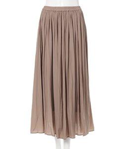 ヴィンテージサテンギャザー スカート