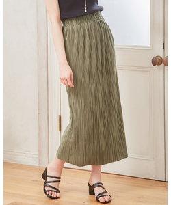 プリーツタイト スカート
