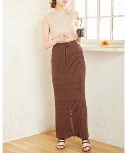 スカシロング スカート