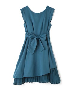 スネーキープリーツドレス