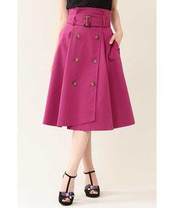 ◆トレンチピーチスカート