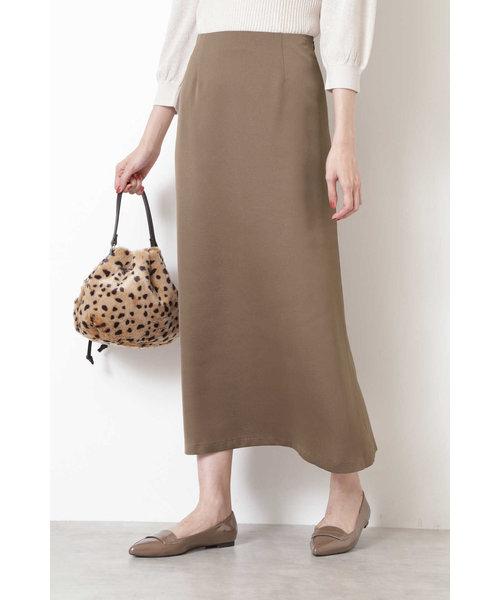 [洗える]マーメイドサテンスカート