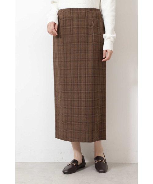  CanCam 11月号掲載 [洗える]ウールライクナロースカート