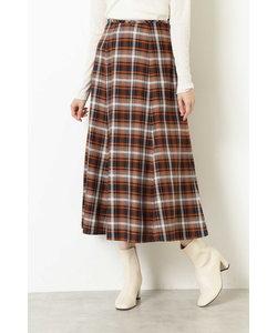 |美人百花 11月号掲載|[洗える]チェックAラインスカート