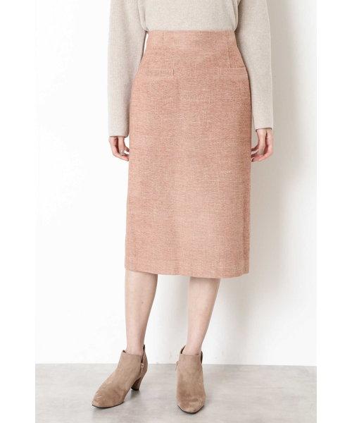 モールツイードタイトスカート