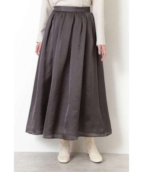 |VERY 1月号掲載|《神山まりあさんコラボ》ボリュームフレアスカート