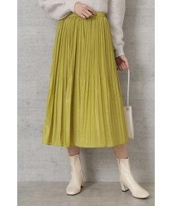 |VERY 1月号掲載|[洗える]ランダムプリーツサテンスカート
