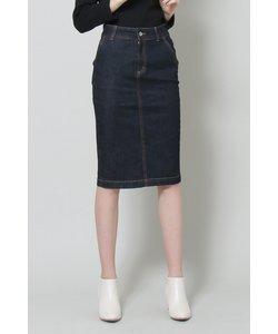 ◆デニムタイトスカート