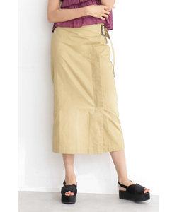 サイドバックルロングスカート