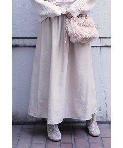 ◆シャーリングギャザースカート
