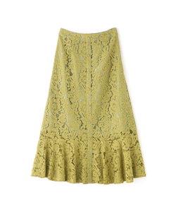 ◆レースマーメイドスカート