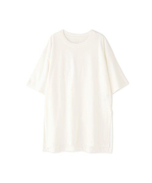 ◆USAコットンスリットチュニックTシャツ
