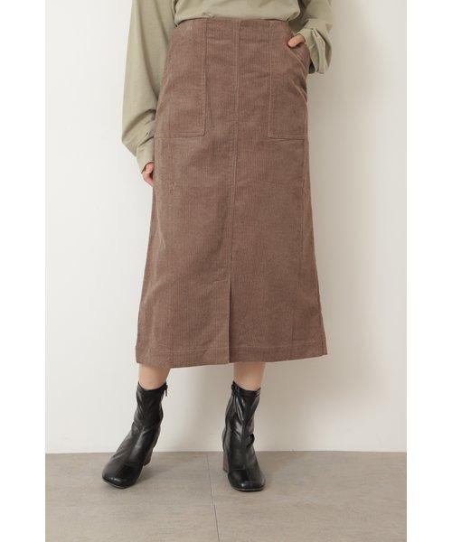 ◆コーディロイナロースカート