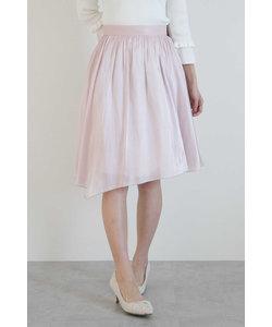 エアメタリックサテンスカート