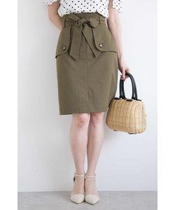 ◆トレンチツイルタイトスカート