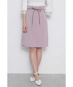 ◆レザーリボンタイトスカート