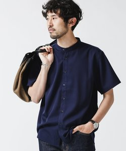 《WEB限定》エントリーバンドカラーシャツ/半袖