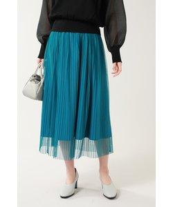 チュールレイヤードスカート