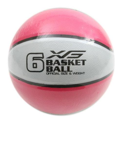 バスケットボール 6号球 (一般 大学 高校 中学校) 女子用 781G5ZK6620PNK