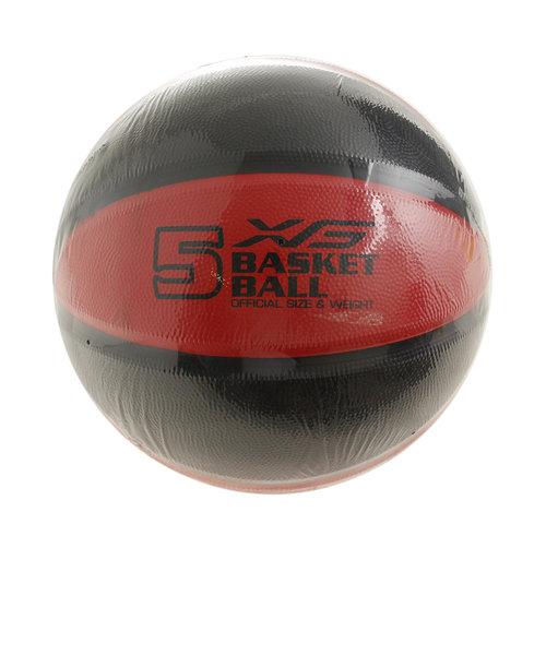 エックスティーエス(XTS)バスケットボール 5号球 (小学校用) ジュニア 781G5ZK6621RED 自主練