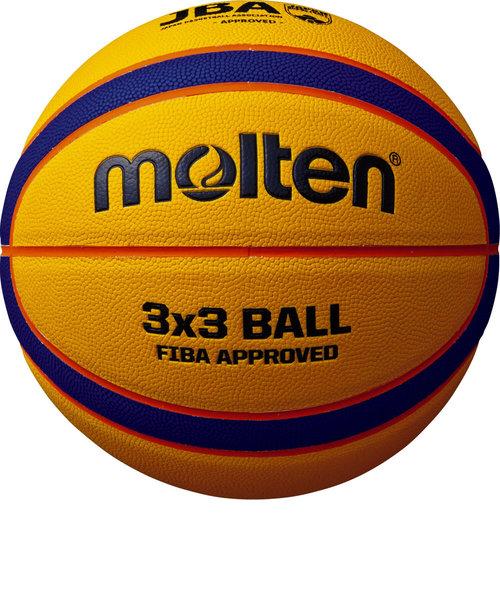 モルテン(molten)バスケットボール 6号球 (一般 大学 高校 中学校) 女子用 検定球 リベルトリア5000 3×3 B33T5000