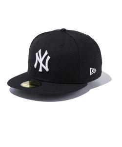 ニューエラ(NEW ERA)MLB カスタム 59FIFTY ニューヨーク ヤンキース キャップ BLK SWHT 11308564