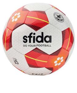 サッカーボール VAIS レッド BSF-VA02 WHT/RED