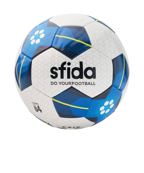 スフィーダ(SFIDA)サッカーボール 4号球 (小学校用) 検定球 ジュニア VAIS ジュニア ブルー BSF-VA03 WHT/BLU 自主練