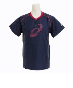 Tシャツ メンズ 半袖ウオームアップシャツ XWW625.50